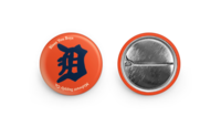 Detroit Tigers Fans Button