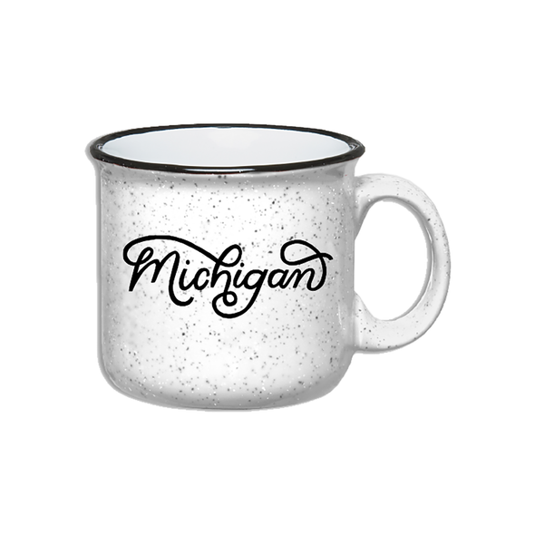 Michigan Script Mug