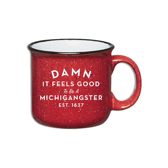 Michigangster Mug Red