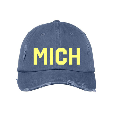 Maize & Blue MICH Hat