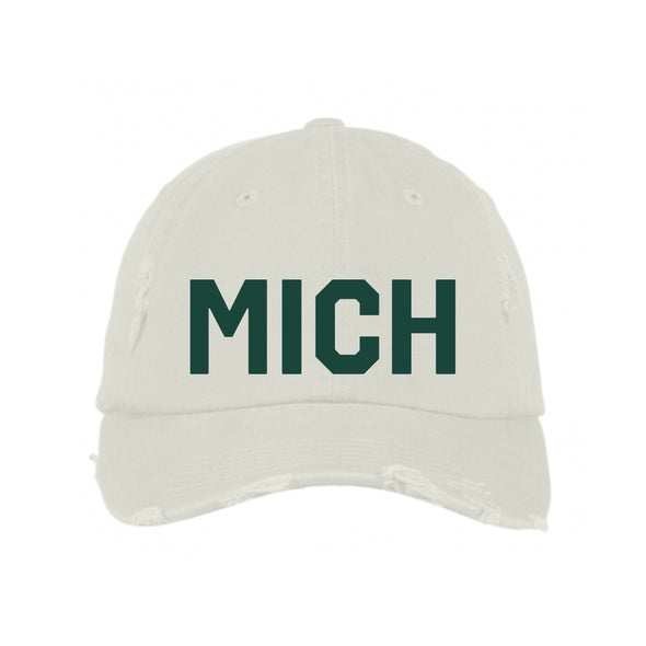 Green & Stone MICH Hat