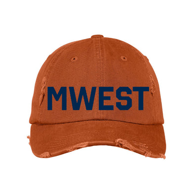 Orange & Blue MWEST Hat