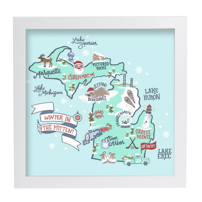 Winter in Mitten Art Print