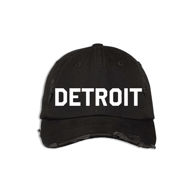 Detroit Distressed Hat