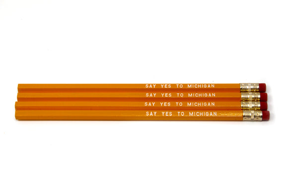 Say Yes to Michigan Pencil