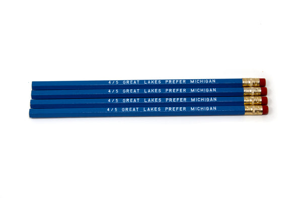 4/5 Great Lakes Prefer Michigan Pencil