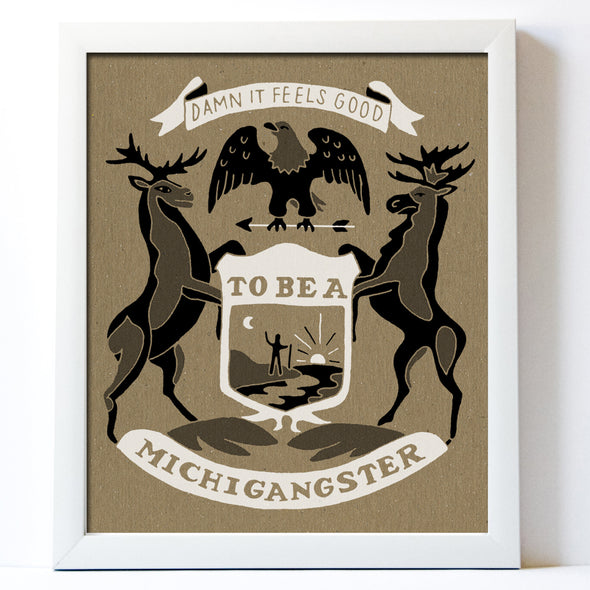 Michigangster Print