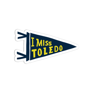 I Miss Toledo Sticker