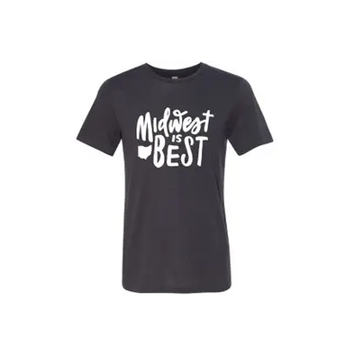 Midwest is Best Ohio T-shirt