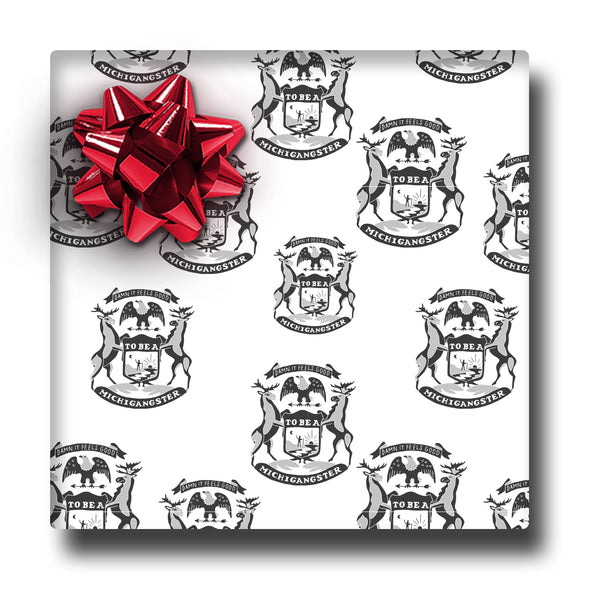Michigangster Wrapping Paper