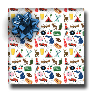 Michigan Icon Wrapping Paper