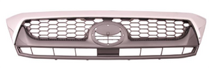 Toyota Hilux Front Centre Grill - Chrome/Black - 2009-2011