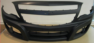 Chev Utility Front Bumper With Fog Lamp Hole 2012+
