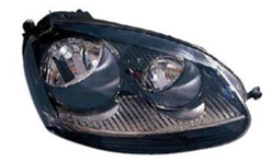 VW Golf 5 Head Lamp LH/RH 2004-2009 - Black
