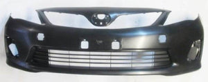 Toyota Corolla Front Bumper with Bumper Grill & Fog Light holes 2011+