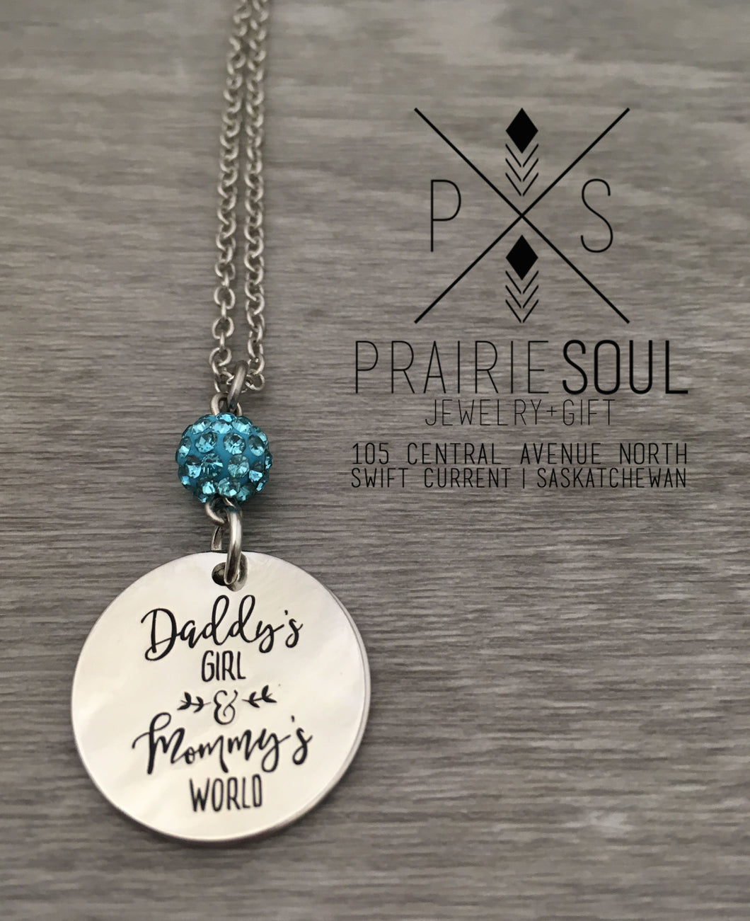 Daddy's Girl & Mommy's World Necklace
