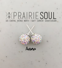 Glitterball Earrings | Aurora