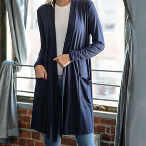 Cardigan Slouchy Pocket 36""