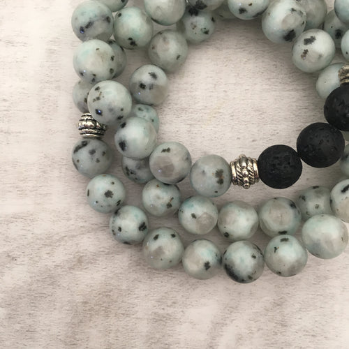 Stone stacker bracelet | Sea Pepper