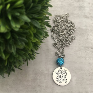 Necklace | Worlds Best Mom