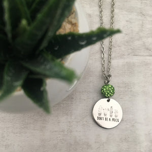 Necklace | Cactus - Dont be a Prick