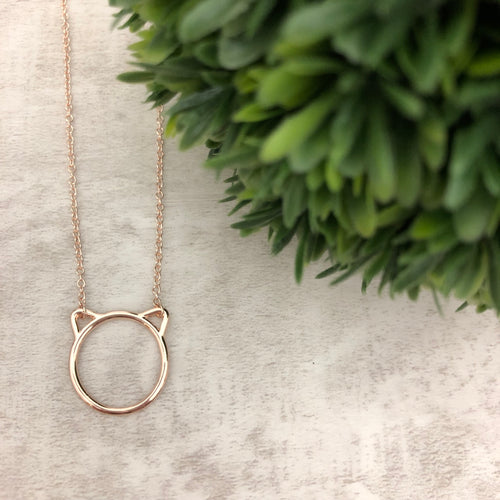 Dainty Necklace | Cat
