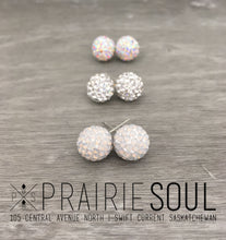 Glitterball Earrings | Opal