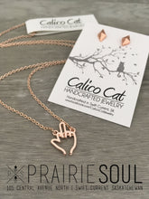 Dainty Necklace | FU Middle Finger