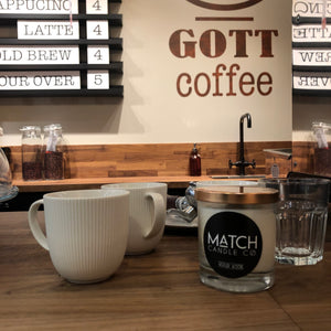 Match Soy Candle Cotton or Wood Wick *Discountinued