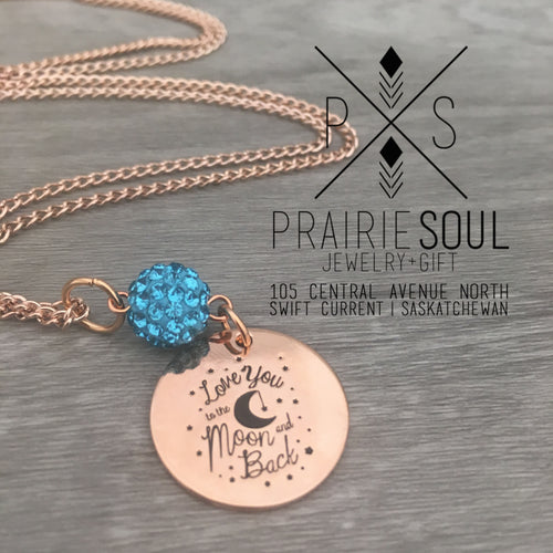 Necklace | Love you to the Moon and Back