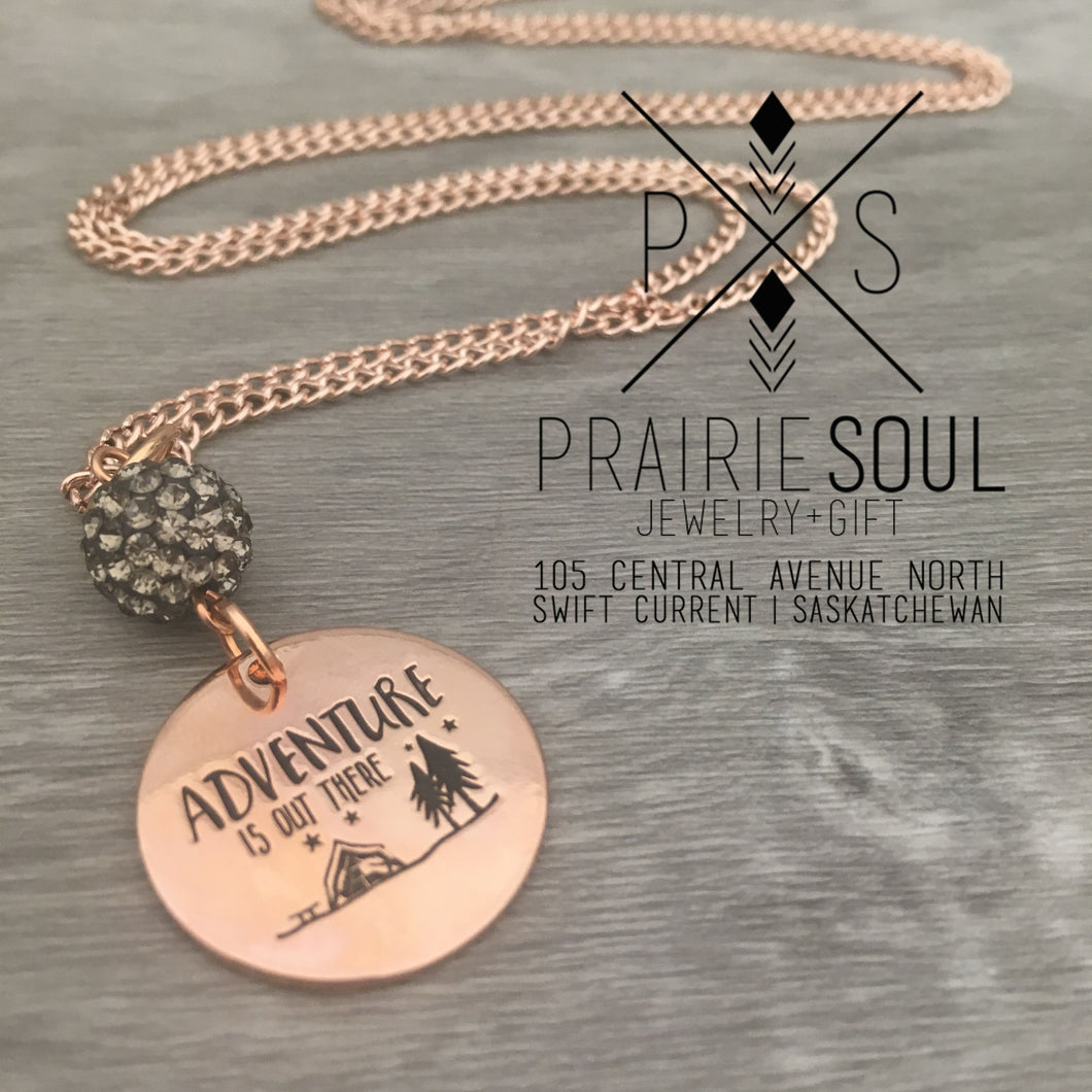 Necklace | Adventure is out there