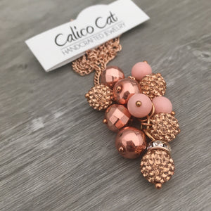 Necklace Cluster | Rosegold