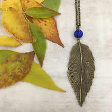 Flat Leaf Necklace