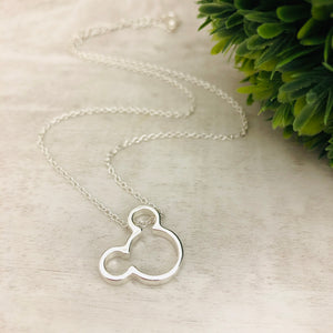 Dainty Necklace | Mickey Mouse