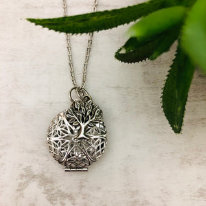 Aromatherapy Necklace | Round