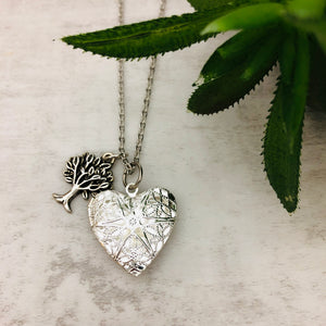 Aromatherapy Necklace | Heart