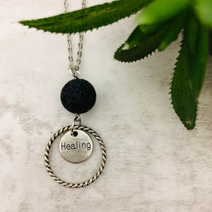Aromatherapy Necklace | Healing