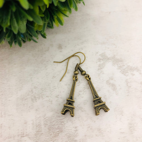 Charm Earring | Eiffel Tower Paris