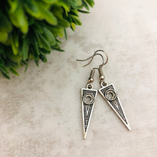Charm Earring | Triangle Long
