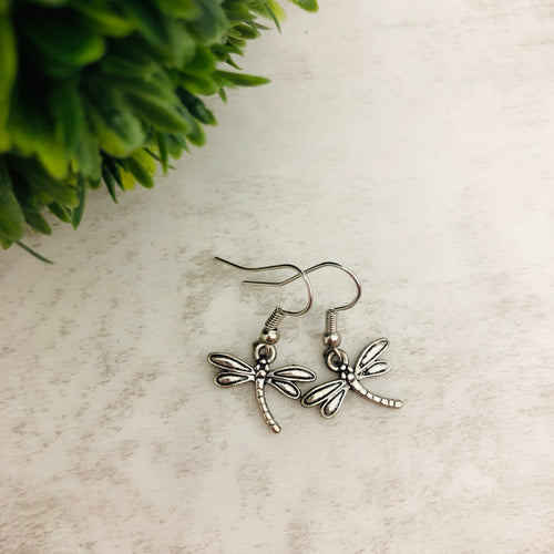 Charm Earring | Dragonfly