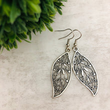 Charm Earring | Leaf with Vines