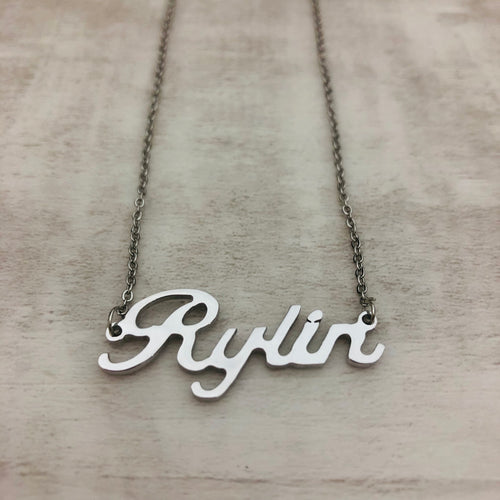 Necklace | Caligraphy Custom Rylin