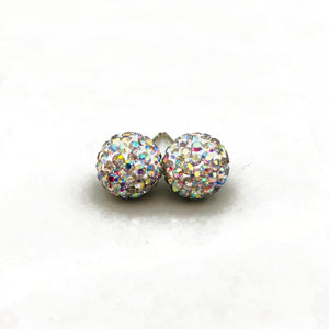 Glitterball Earrings - Aurora