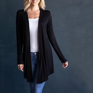 "Cardigan 30"" long sleeve"