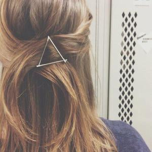 Hair Barrette Triangle