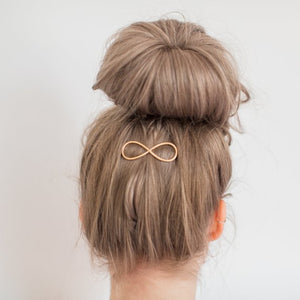 Hair Barrette Infinity