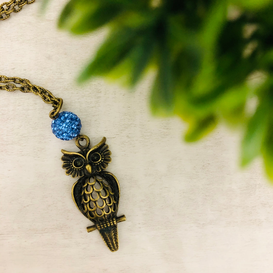 Owl 2 Necklace