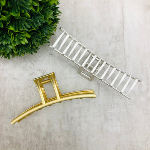 Hair Claw - Metal Sr Straight