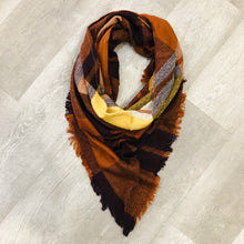 Triangle Blanket Scarf | Ginger Hues