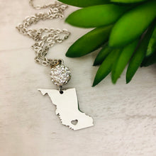 British Columbia Heart Necklace